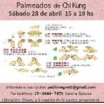 Palmeados de Chi Kung en Vicente Lopez, Pcia. Buenos Aires (GBA Norte)