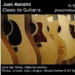 Clases de GUITARRA / En San Telmo en Ciudad A. de Buenos Aires