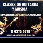 CLASES DE GUITARRA Y MÚSICA San Isidro  en San Isidro, Pcia. Buenos Aires (GBA Norte)