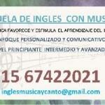 CLASES DE INGLES CON MUSICA Y LITERATURA en Pcia. Buenos Aires (GBA Norte)