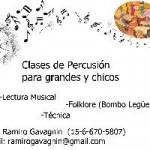 Clases de Mùsica y Percusión en Ciudad A. de Buenos Aires