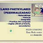 Clases Personalizadas ! en Mar del Plata, Pcia. Buenos Aires (Costa Atlántica)