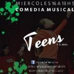 COMEDIA MUSICAL V.A. TEENS en Gral San Martín, Pcia. Buenos Aires (GBA Norte)