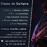 profesor de guitarra particular en Pcia. Santa Fe