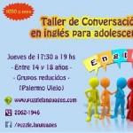 Taller de conversación en inglés en Palermo, Ciudad A. de Buenos Aires
