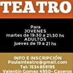 Taller de teatro en Caseros en Tres de Febrero, Pcia. Buenos Aires (GBA Oeste)