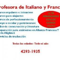 SEGUIMOS CON  FRANCÉS E ITALIANO!! en Pcia. Buenos Aires (GBA Sur)